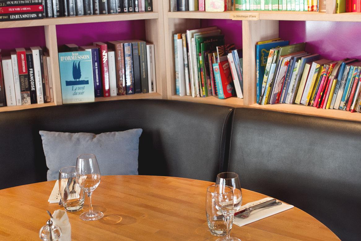 La Librairie, Paris XVIeme. ©SophieDerrien
