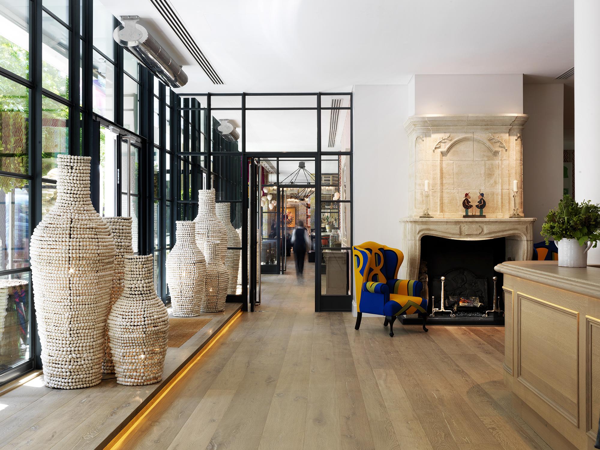 Le soho qu on aime en famille au ham yard hotel les louves for Londres hotel design