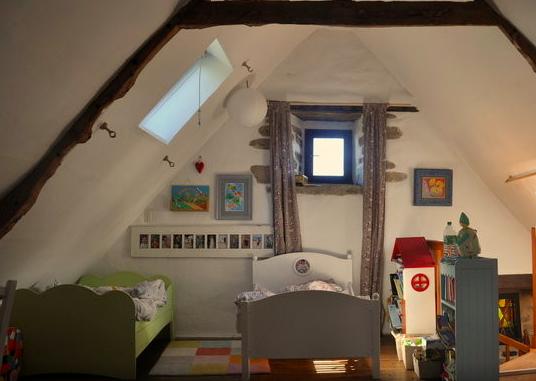 La chambre des enfants à Lizio