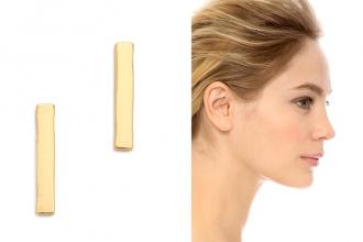 Boucles d'oreille discrètes