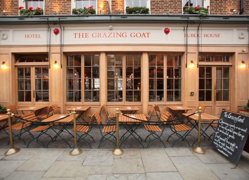 The Grazing Goat, Londres