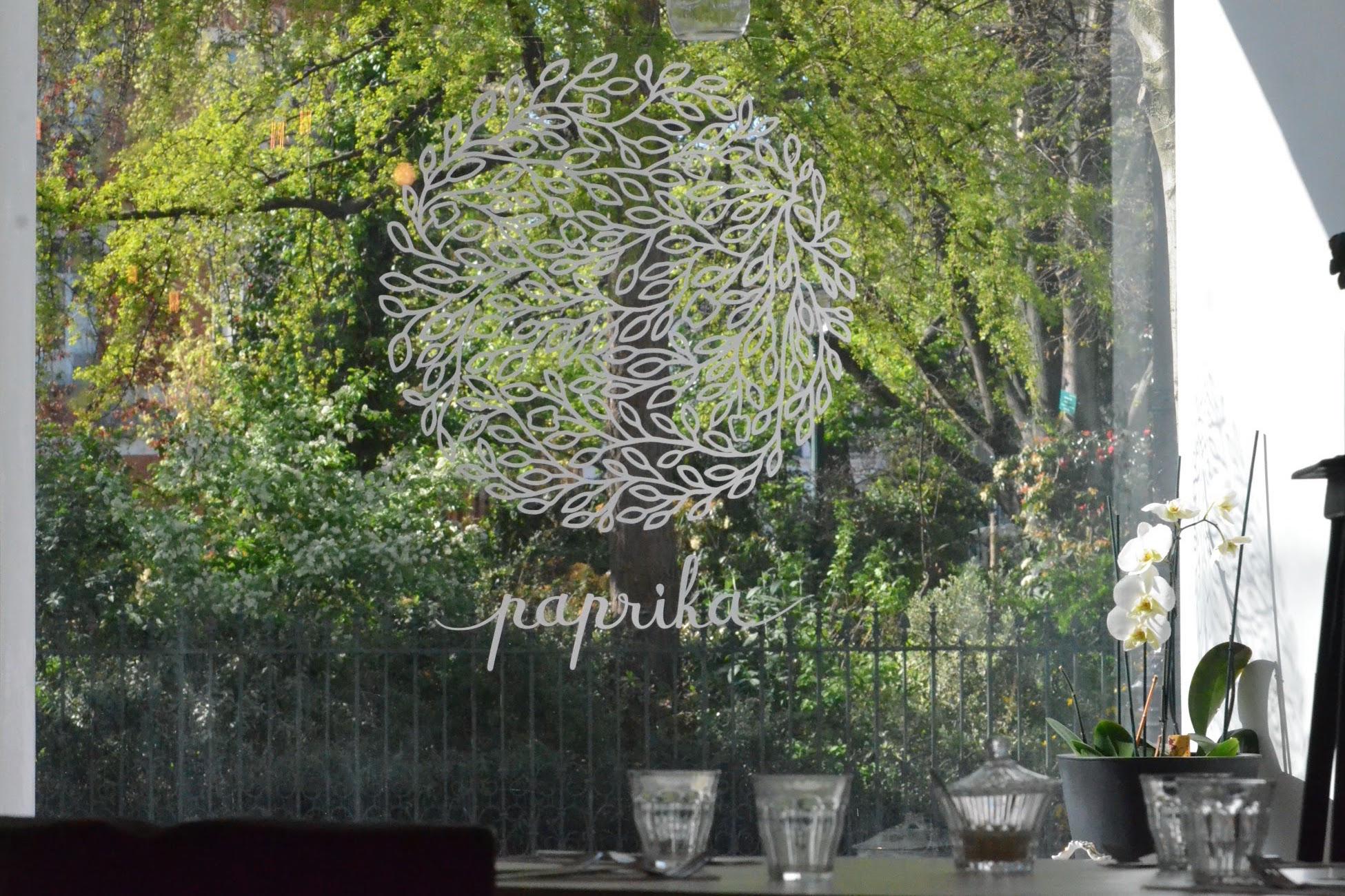 Restaurant Paprika, Paris IIIeme.