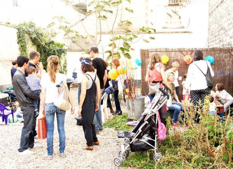 Au fond du jardin, Paris XXe