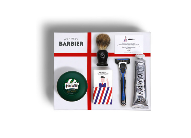 6. Coffret Super Daddy, Monsieur Barbier, 44,99€ + 5€ de frais de port. D'autres coffrest son disponibles à partir de 24,99€.