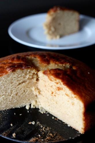 Le gâteau au yaourt et au sirop d'érable