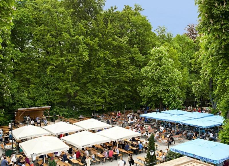 Biergarten Hirschau, Munich