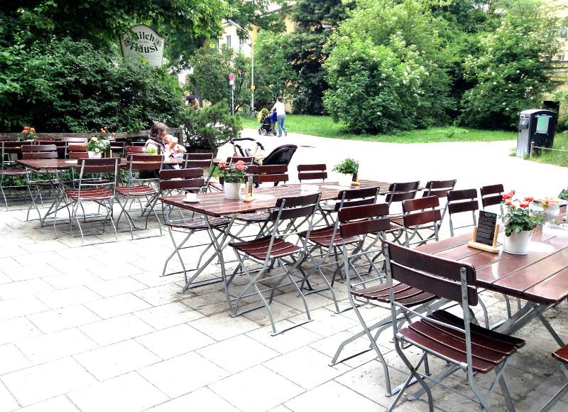 Biergarten MilchHausl, Munich