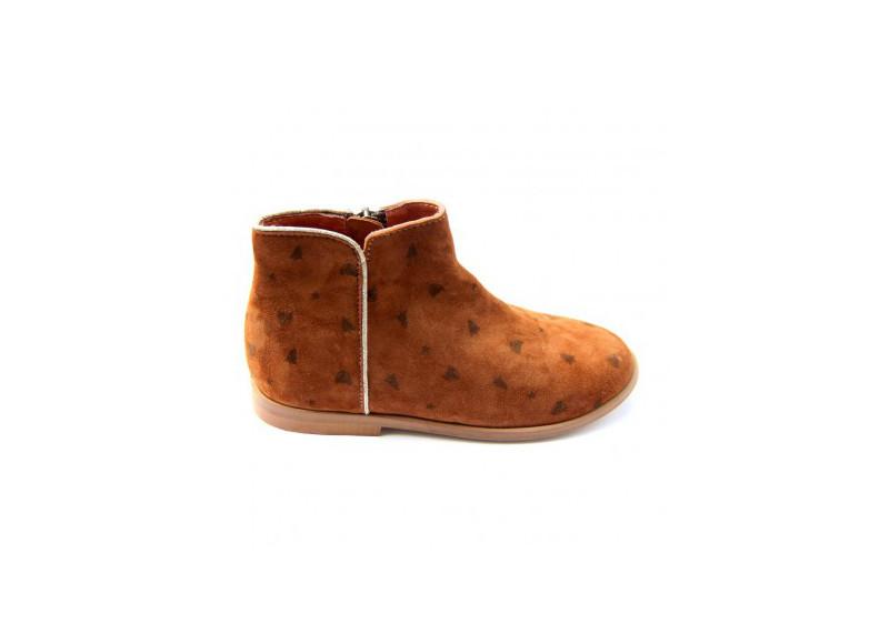 5. Boots Ida caramel, Emile et Ida