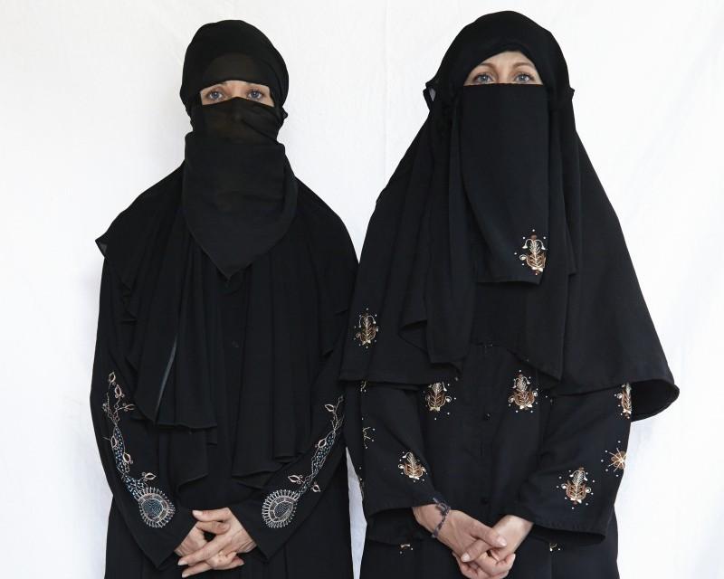 Niqab à la mode pakistanaise. ©Benoît Pailley