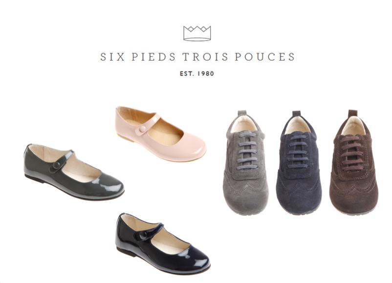 Chaussures pour enfants à Paris: les boutiques bien taillées de Six Pieds Trois Pouces