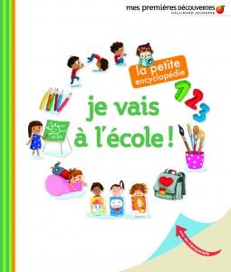 Je vais à l'école, petite encyclopédie, Gallimard jeunesse