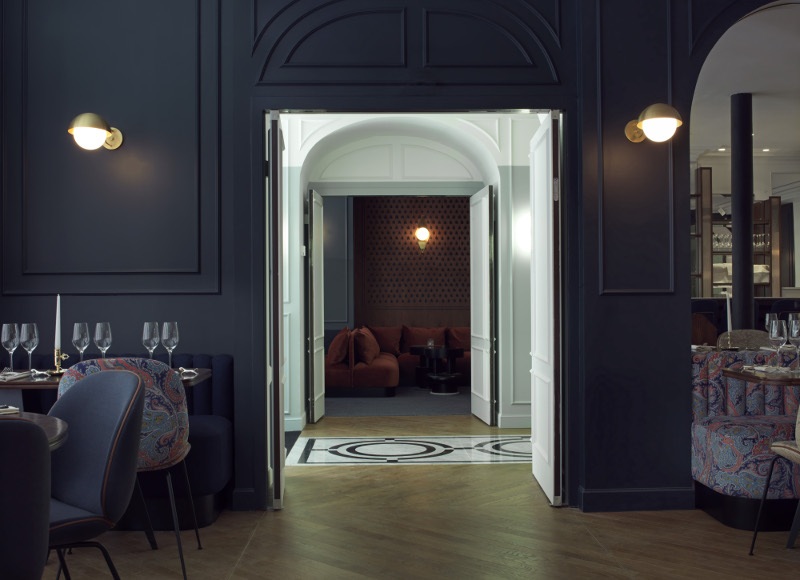 Hôtel Bachaumont, Paris ©Paul Bowyer