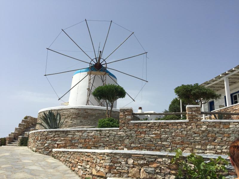 Windmill Bellavista, Sifnos