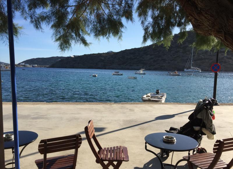 Port de Faros, Sifnos