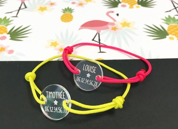 Super Jolis bracelets de sécurité pour les enfants à la plage - Les Louves UG02
