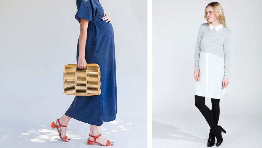 Top Enceinte au travail : jolies tenues de grossesse pour travailler  SY65
