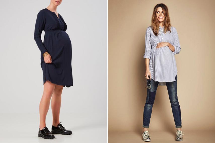 enceinte au travail jolies tenues de grossesse pour. Black Bedroom Furniture Sets. Home Design Ideas