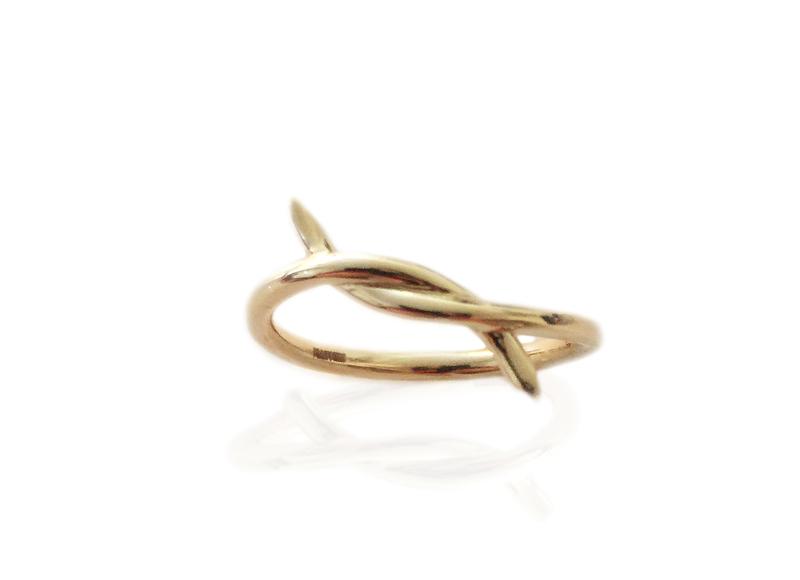 Promise Ring en or 14 carats, Katkim