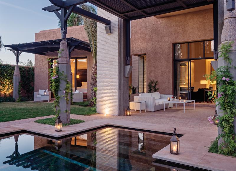 Une villa priv e dans les jardins du royal palm marrakech for Villa des jardins marrakech