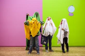 L'atelier des enfants au Centre Pompidou