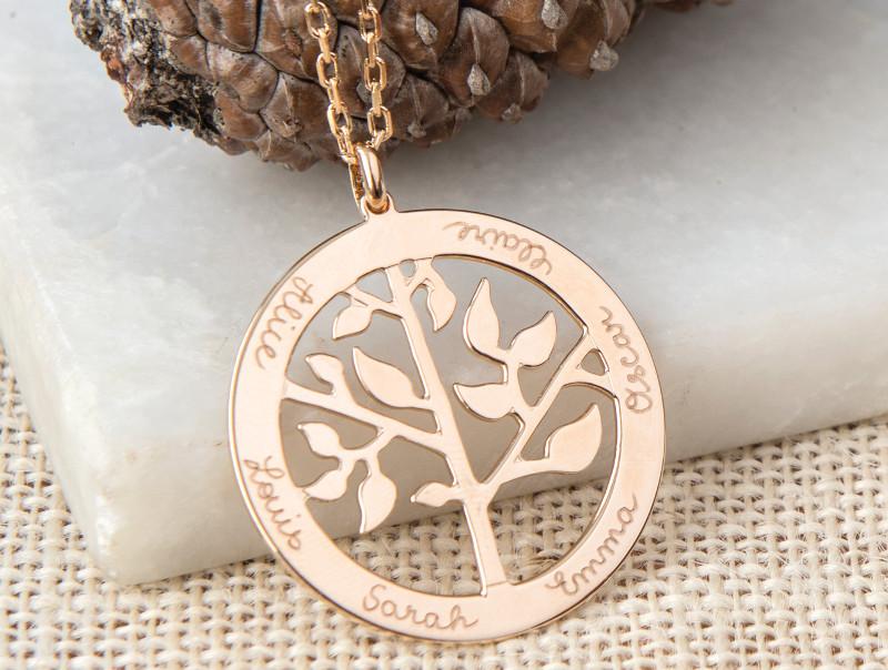 Merci Maman - arbre de vie-cadeau-noel