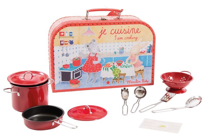 La Valise Je cuisine de Moulin Roty