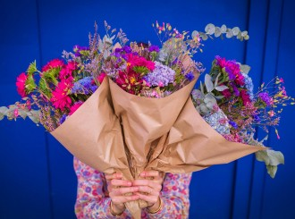 Faites livrer de fleurs avec Racine Paris © JonathanKluger