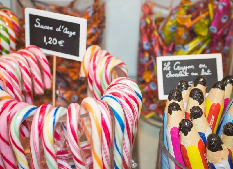 Bonbons au Palais