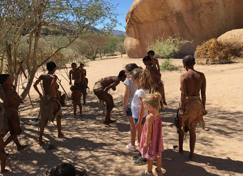 Namibie,Erongo San