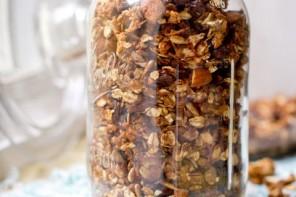 Idée recette pour le petit-déjeuner: le granola sans sucre