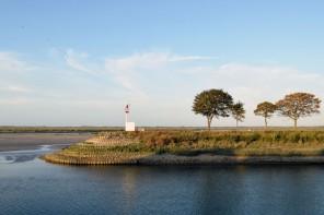 Hôtel les Pilotes: chambre avec vue sur la baie de Somme