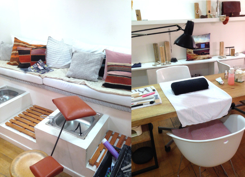 Marseille le salon cosy chic pour une manucure p dicure for Salon de pedicure