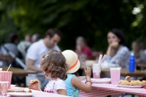 The Biergarten, a joyous institution for Munich families