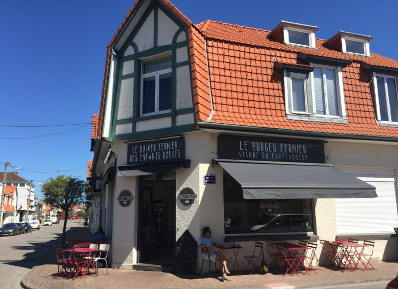 Burger Fermier des Enfants Rouges, Le Touquet Paris-Plage