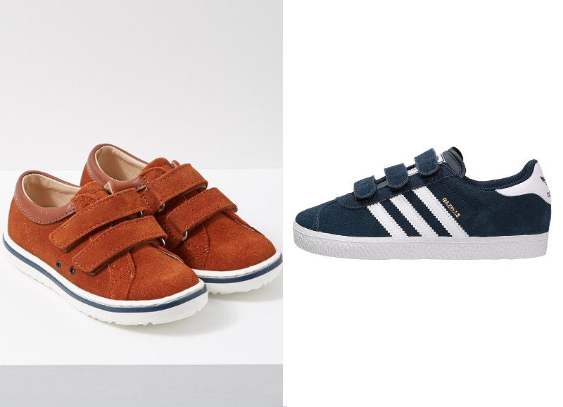 3-Baskets Jacadi 4_Baskets Gazelle Adidas