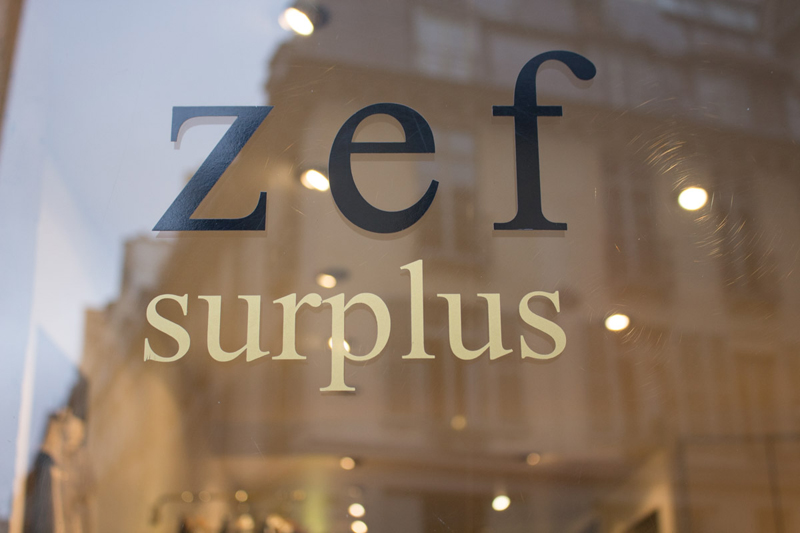 Le surplus Zef à Paris