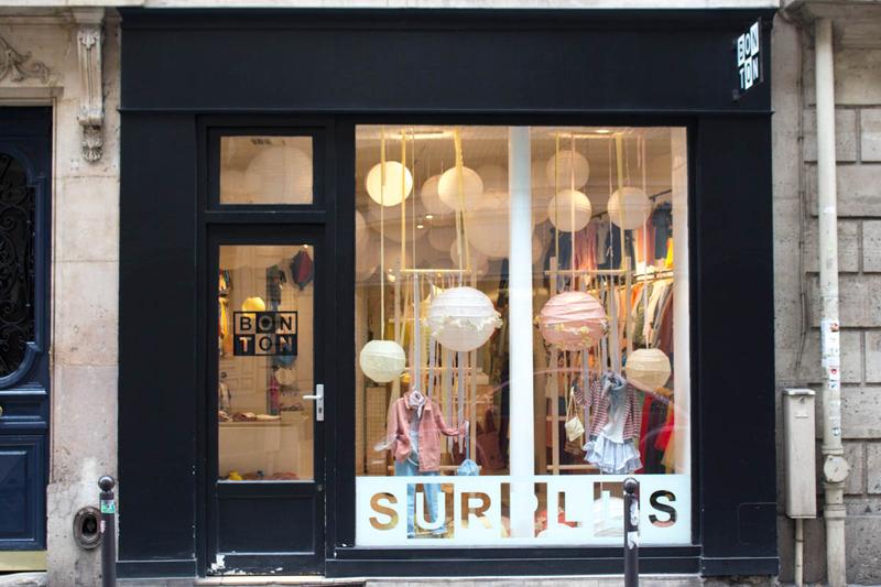 Le surplus Bonton à Paris